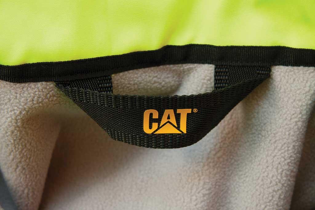 Men's Caterpillar HI VIS Soft Shell Jacket, Hi-Vis Yellow, large, image 5