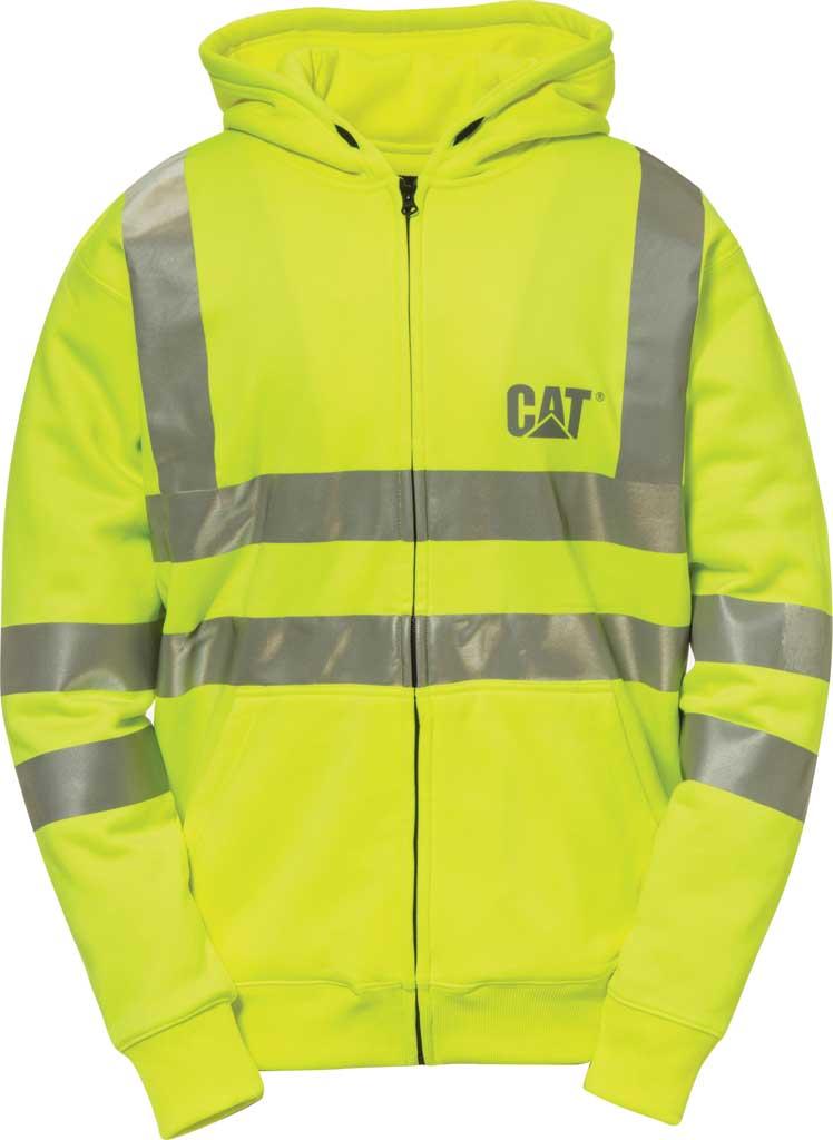 Men's Caterpillar HI VIS Full Zip Lined Sweatshirt, , large, image 1