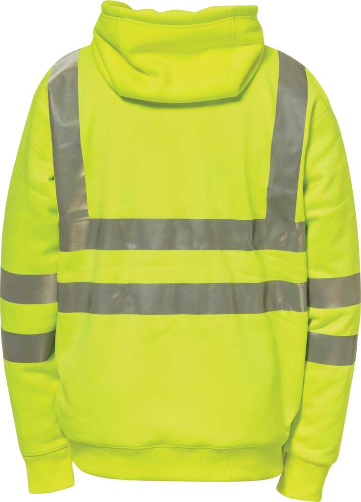 Men's Caterpillar HI VIS Full Zip Lined Sweatshirt, , large, image 2