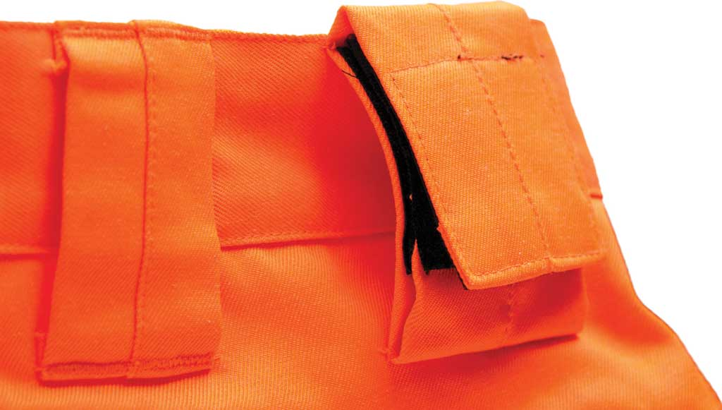 "Men's Caterpillar HI VIS Trademark Trouser - 32"" Inseam, Hi Vis Orange/B, large, image 3"