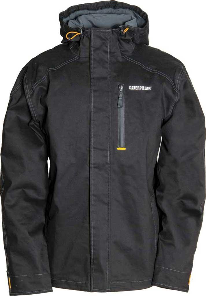 Men's Caterpillar H20 Jacket, Black, large, image 1