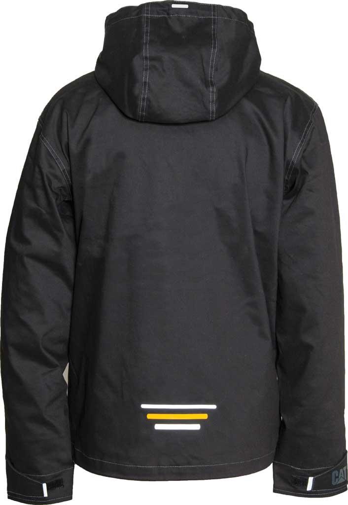 Men's Caterpillar H20 Jacket, Black, large, image 2