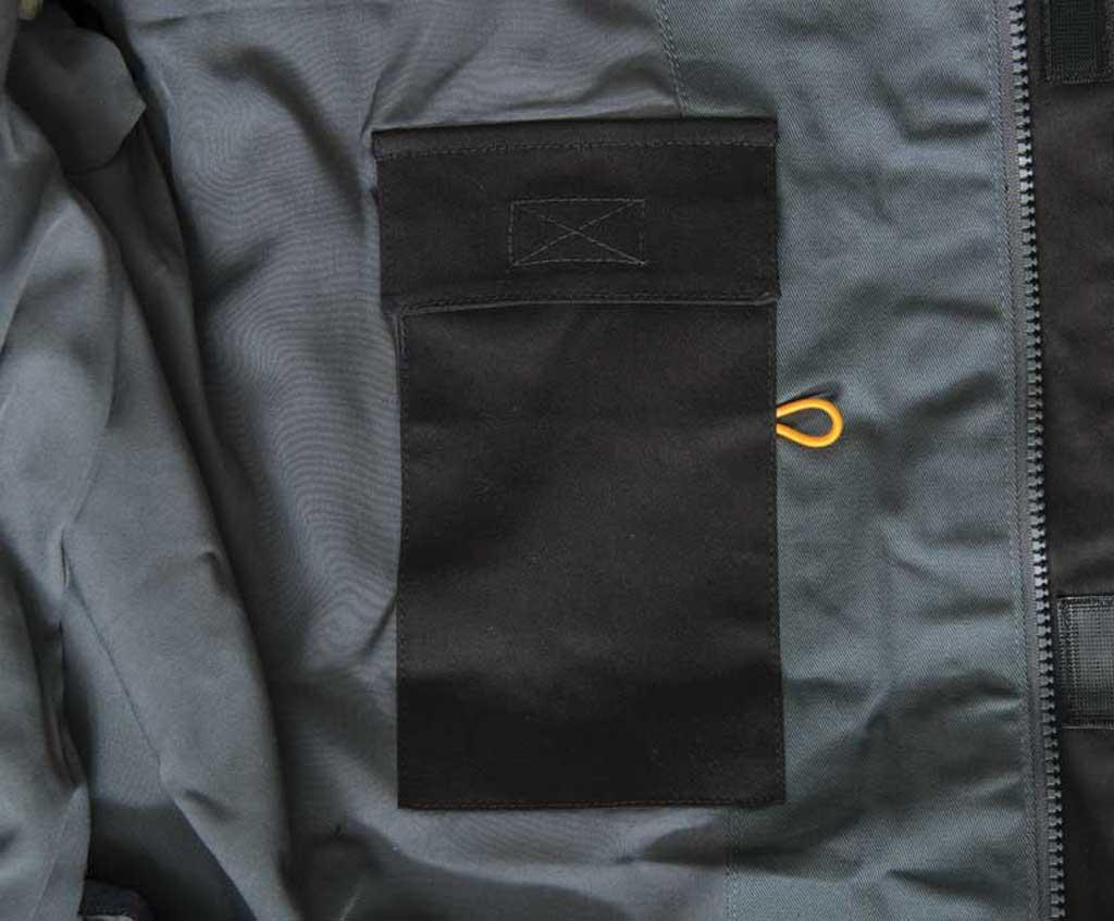 Men's Caterpillar H20 Jacket, Black, large, image 4
