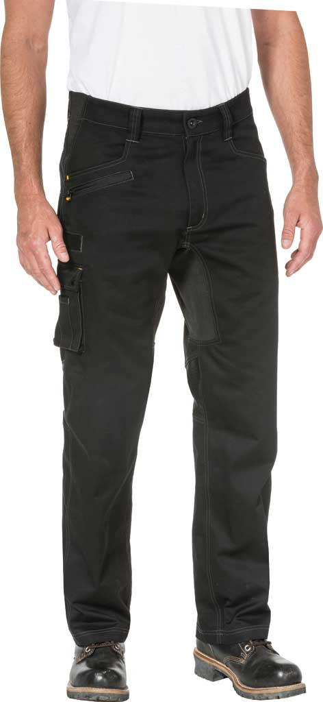 "Men's Caterpillar Operator Flex Trouser - 30"" Inseam, Black, large, image 1"