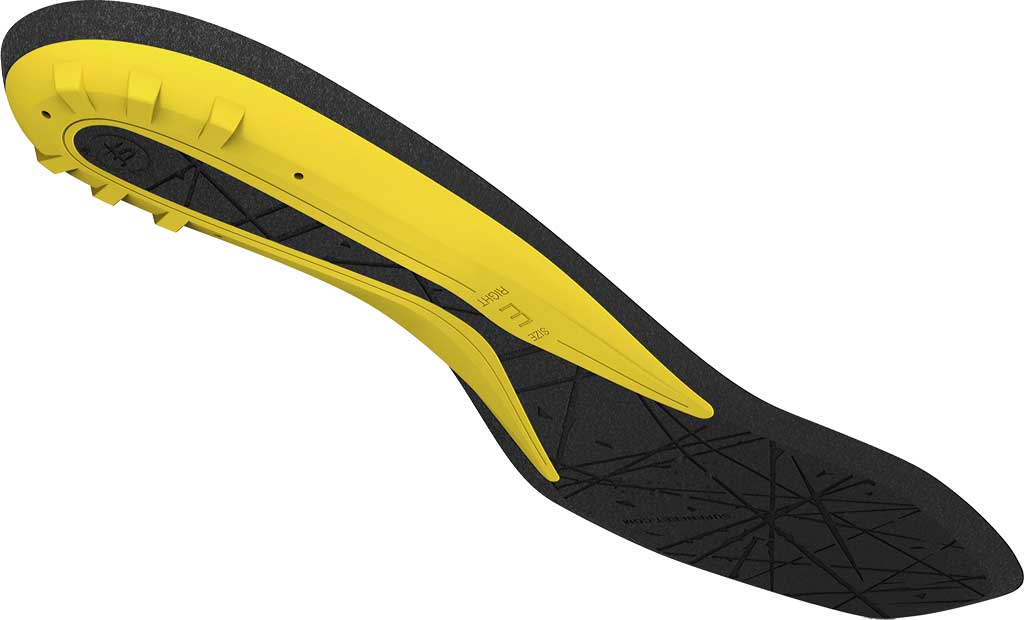 Superfeet Hockey Comfort Insole, Yellow, large, image 4