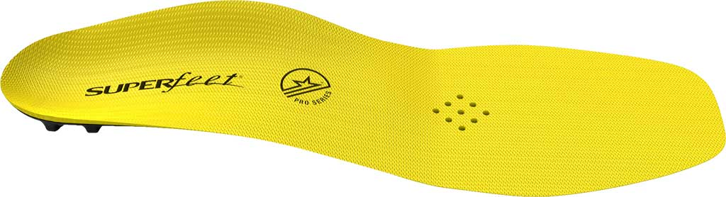 Superfeet Carbon Pro Hockey Insole, Blaze Yellow, large, image 2