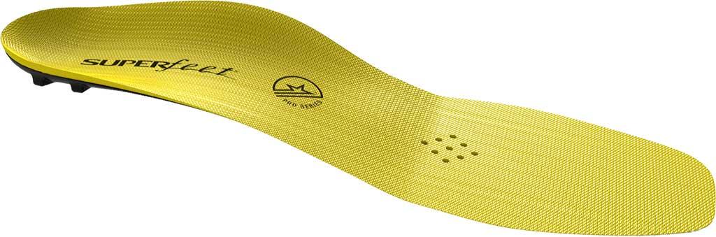 Superfeet Carbon Pro Hockey Insole, Blaze Yellow, large, image 4