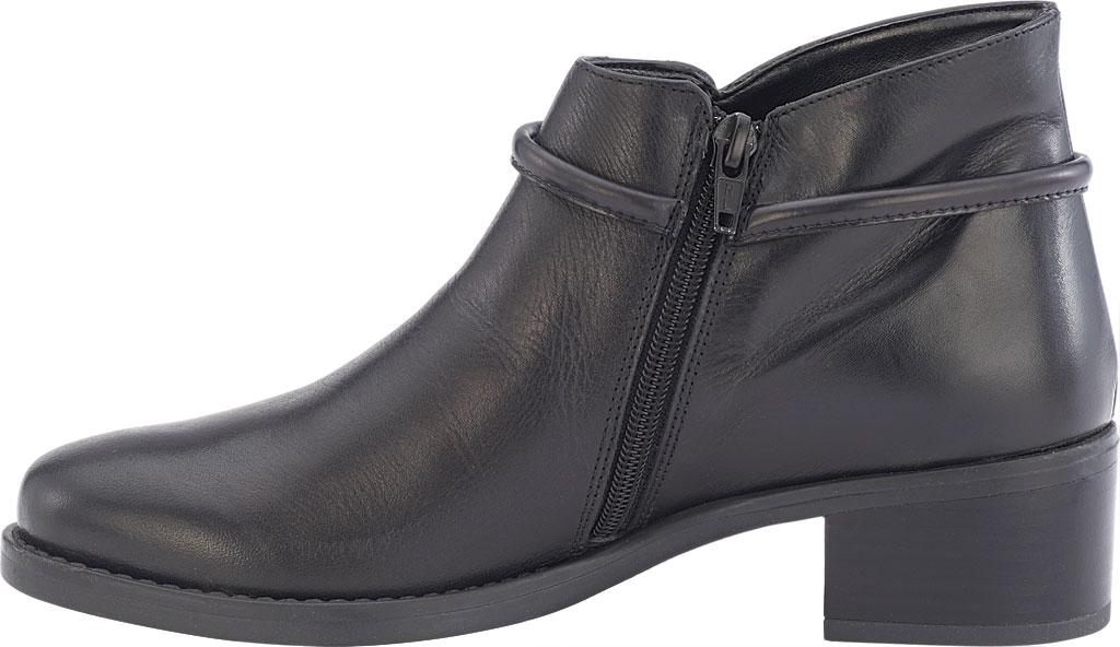 Women's David Tate Miller Ankle Boot, Black Calfskin, large, image 3