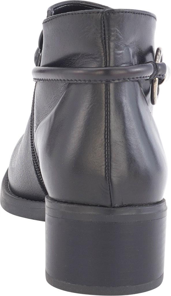 Women's David Tate Miller Ankle Boot, Black Calfskin, large, image 4