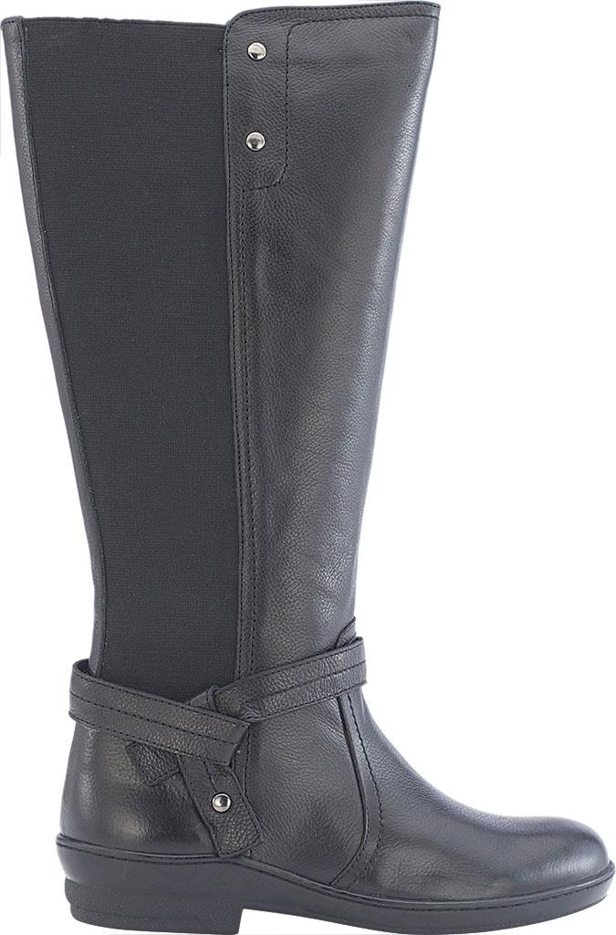 Women's David Tate Memphis 16 Knee High Boot, Black Pebble Grain, large, image 2
