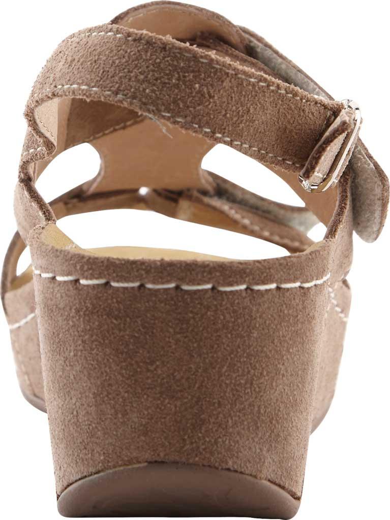 Women's David Tate Reba Wedge Sandal, , large, image 3