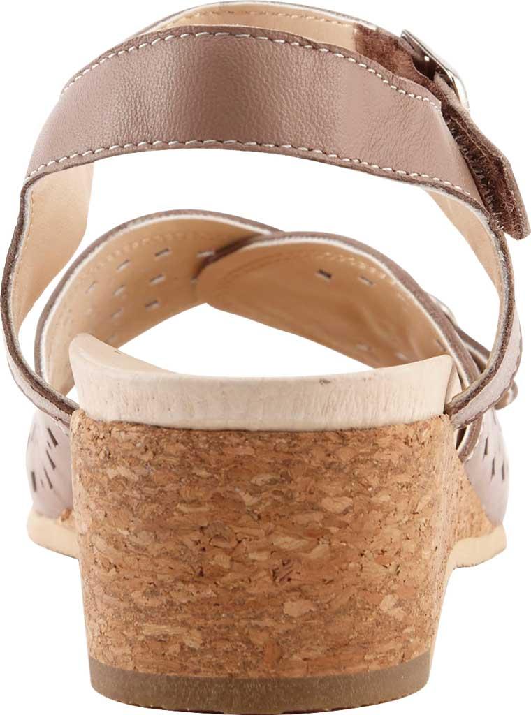 Women's David Tate Briana Wedge Sandal, , large, image 4