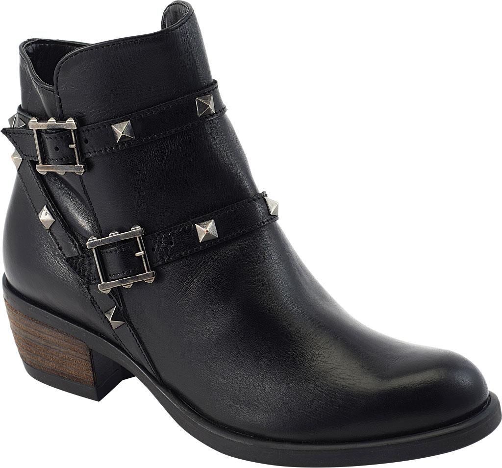 Women's David Tate Asia Ankle Boot, Black Calfskin, large, image 1