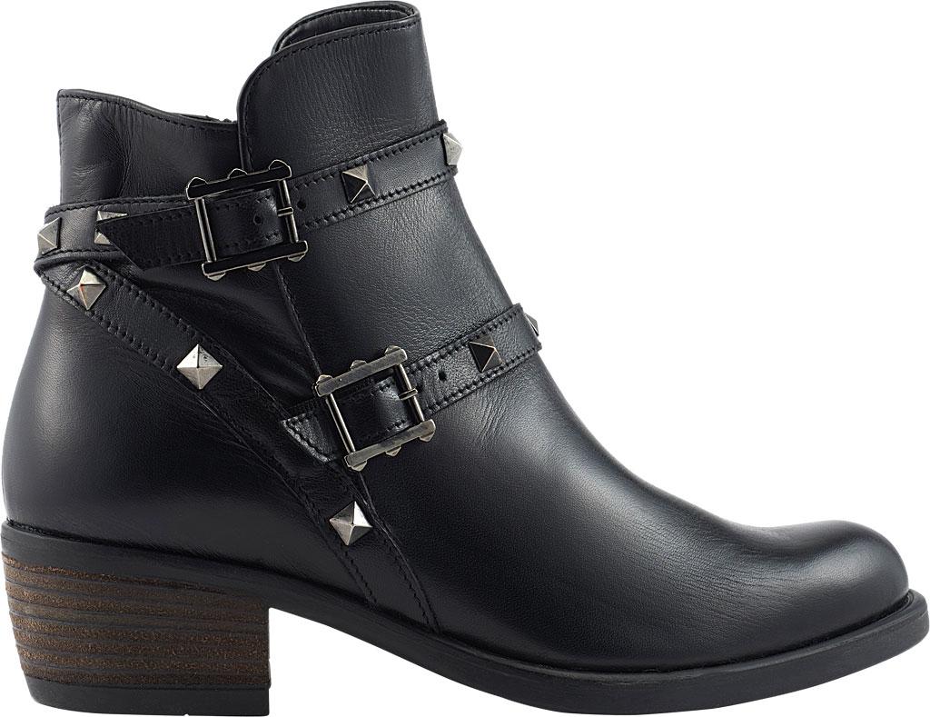 Women's David Tate Asia Ankle Boot, Black Calfskin, large, image 2