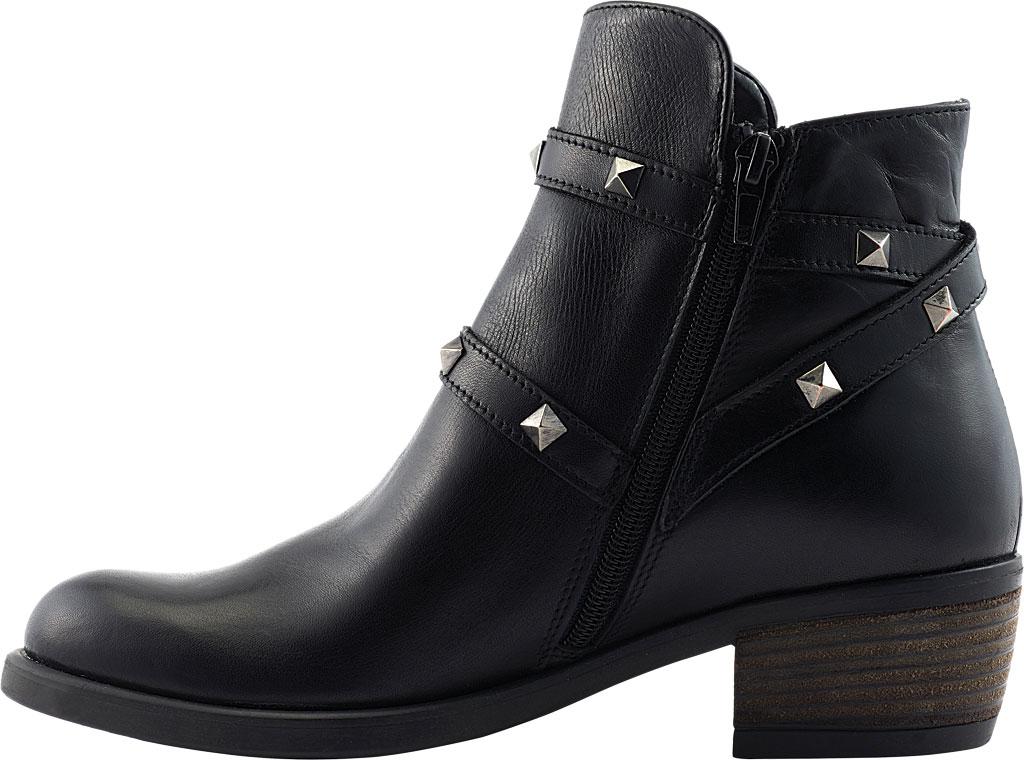 Women's David Tate Asia Ankle Boot, Black Calfskin, large, image 3
