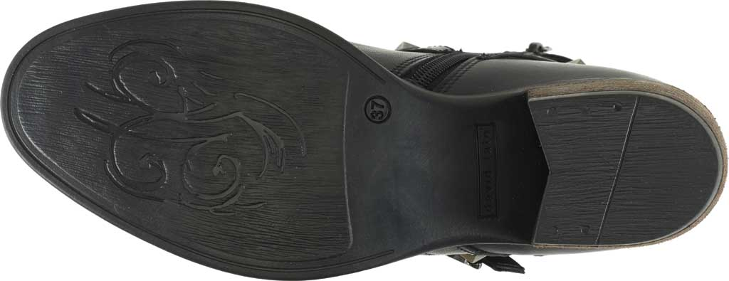 Women's David Tate Asia Ankle Boot, Black Calfskin, large, image 6