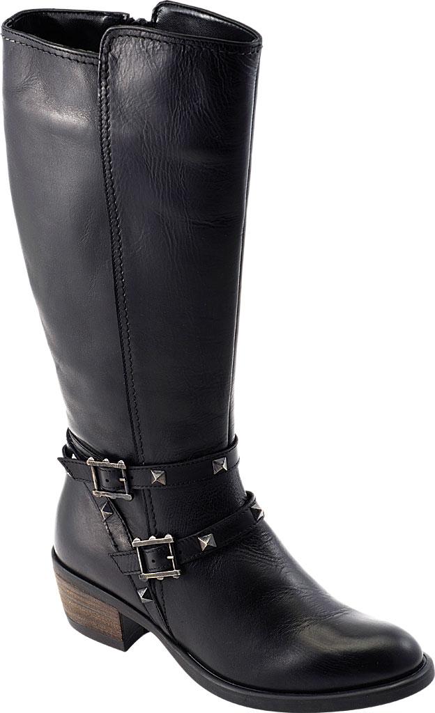 Women's David Tate Novita Knee High Boot, Black Calfskin, large, image 1
