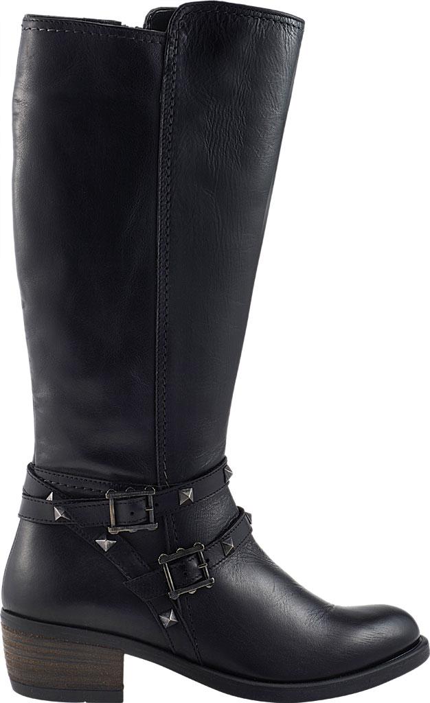 Women's David Tate Novita Knee High Boot, Black Calfskin, large, image 2