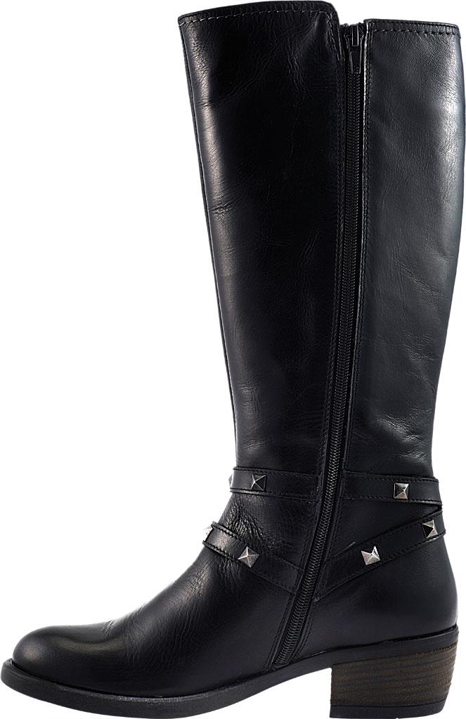 Women's David Tate Novita Knee High Boot, Black Calfskin, large, image 3