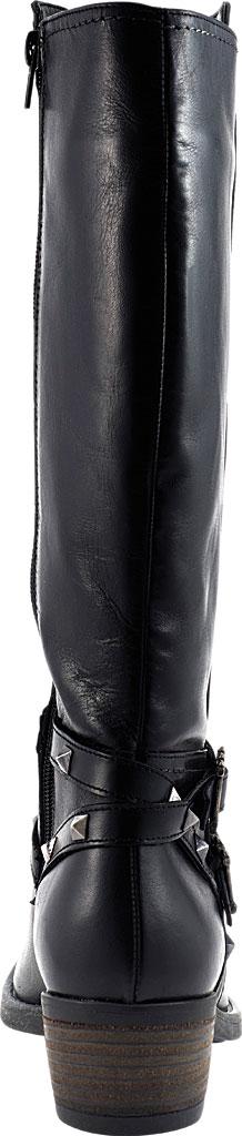 Women's David Tate Novita Knee High Boot, Black Calfskin, large, image 4