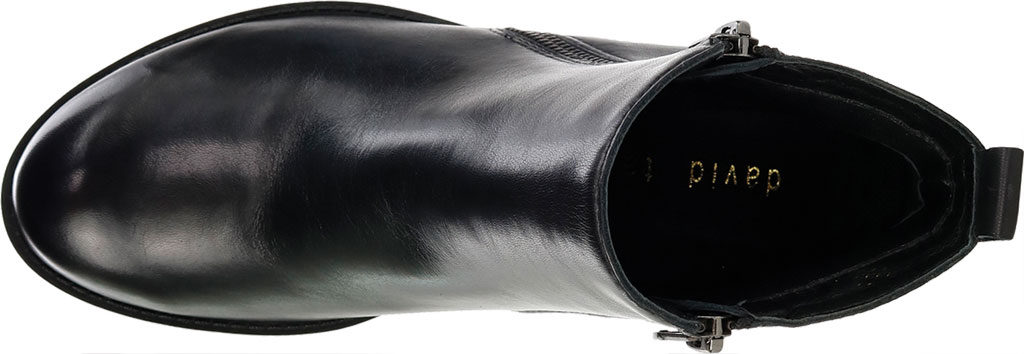 Women's David Tate Cubana Ankle Bootie, Black Nappa, large, image 5