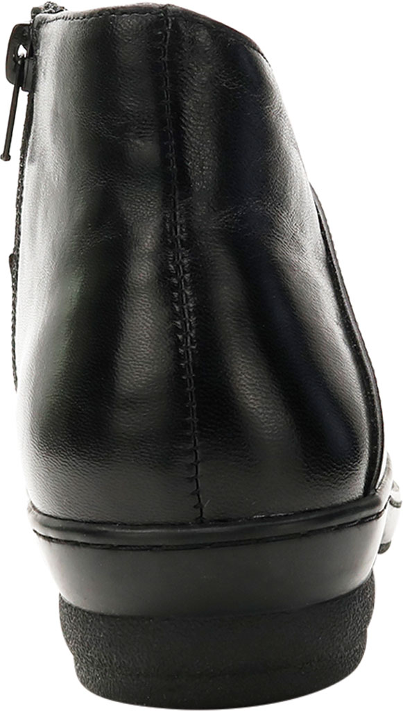 Women's David Tate Pond Ankle Bootie, Black Lambskin, large, image 4