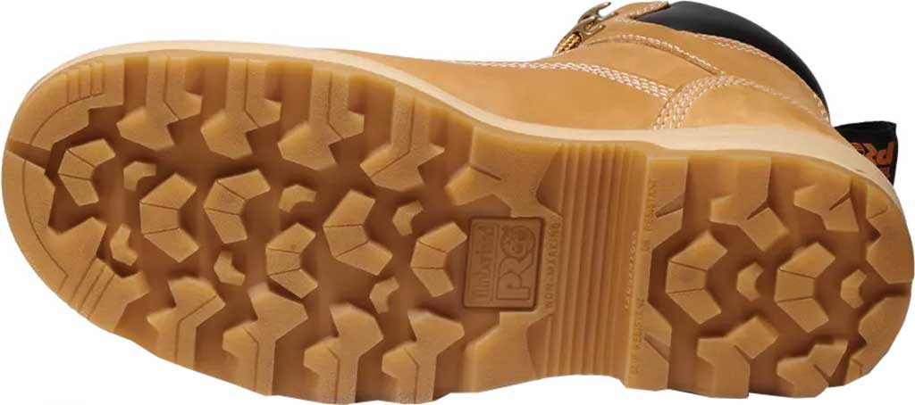 """Men's Timberland PRO Resistor 6"""" Composite Toe Waterproof 200G Boot, Wheat Tumbled Full Grain Leather, large, image 6"""