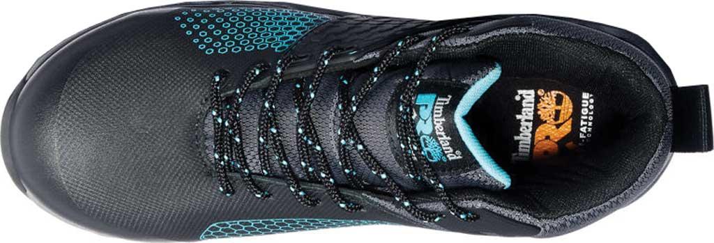 Women's Timberland PRO Ridgework Waterproof Composite Safety Toe Boot, Black Ever-Guard Waterproof Leather, large, image 3