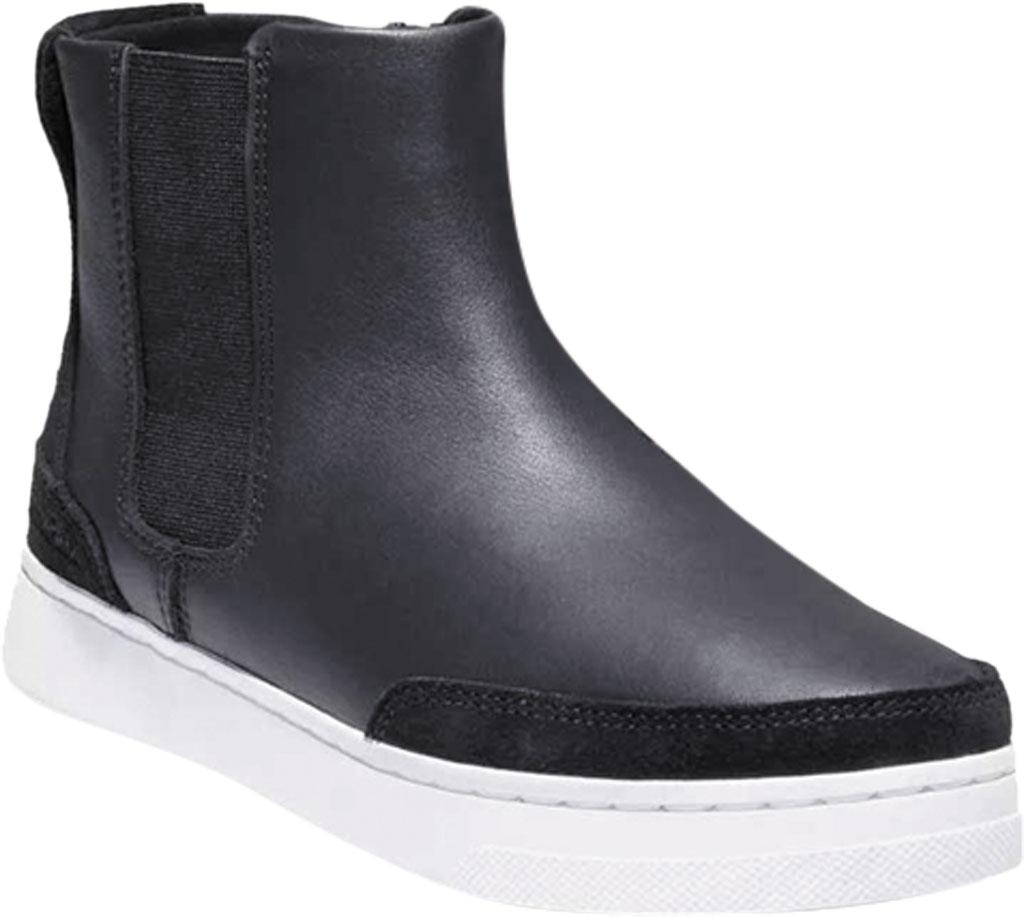 Women's Timberland Atlanta Green Chelsea Side Zip Sneaker, Jet Black Leather, large, image 1