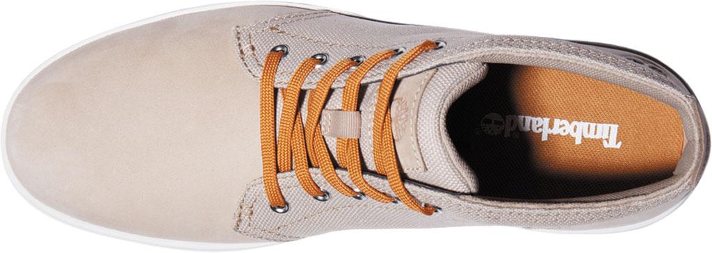 Men's Timberland Davis Square Fabric/Leather Chukka Boot, Humus Nubuck/Cordura EcoMade Fiber, large, image 3