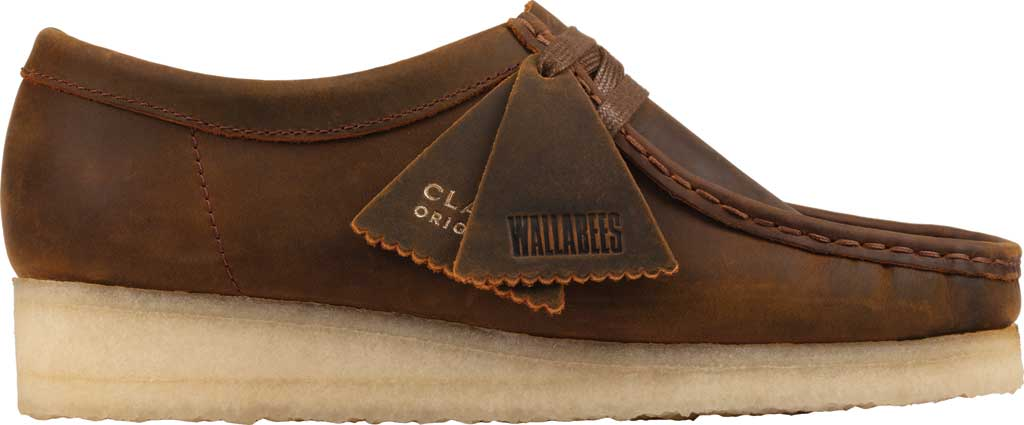 Women's Clarks Wallabee Bootie, Beeswax Leather II, large, image 2