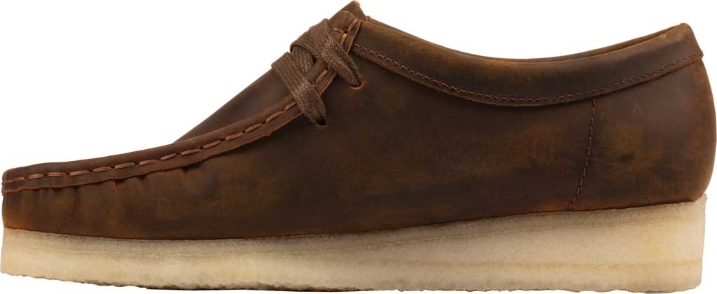Women's Clarks Wallabee Bootie, Beeswax Leather II, large, image 3