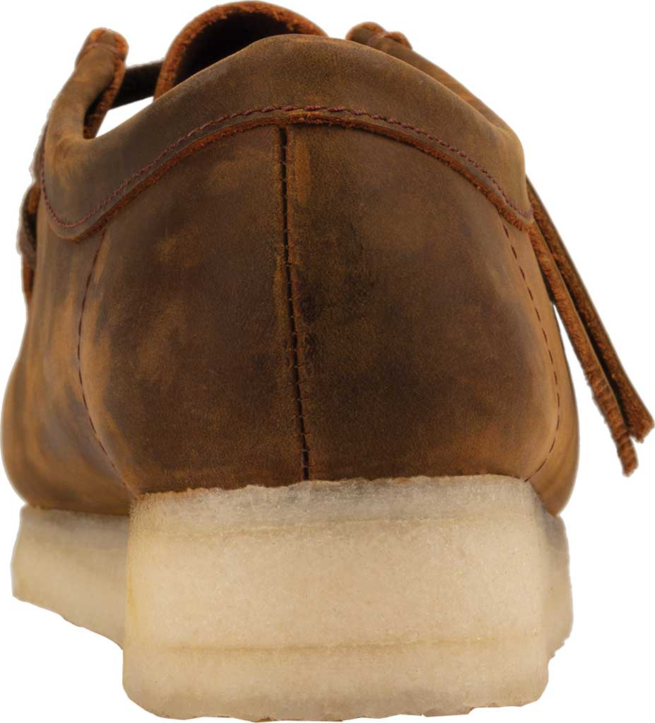 Women's Clarks Wallabee Bootie, Beeswax Leather II, large, image 4