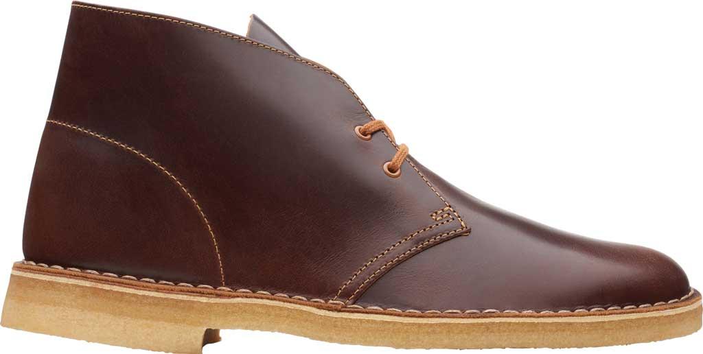 Men's Clarks Desert Boot, Tan Leather, large, image 2