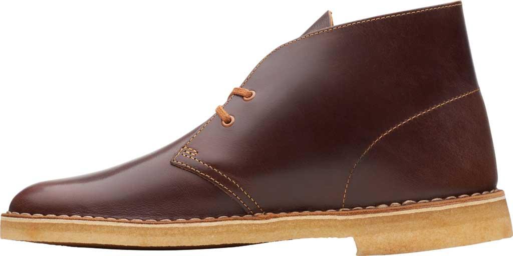 Men's Clarks Desert Boot, Tan Leather, large, image 3