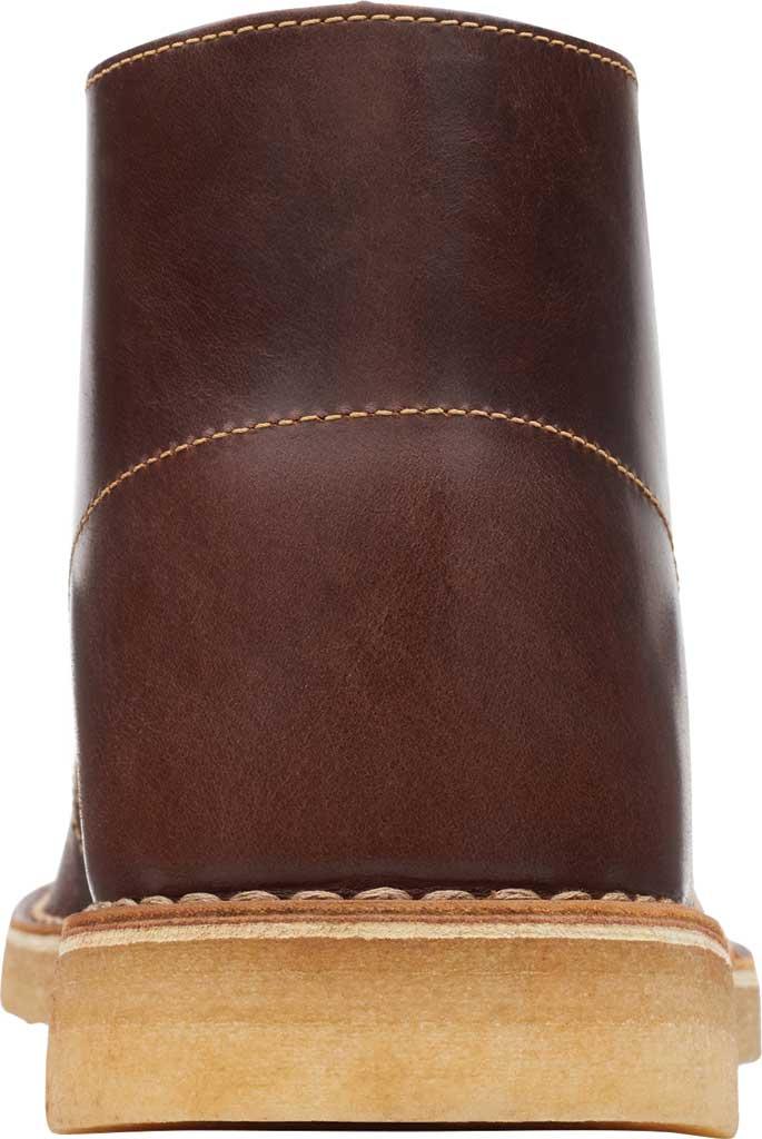 Men's Clarks Desert Boot, Tan Leather, large, image 4