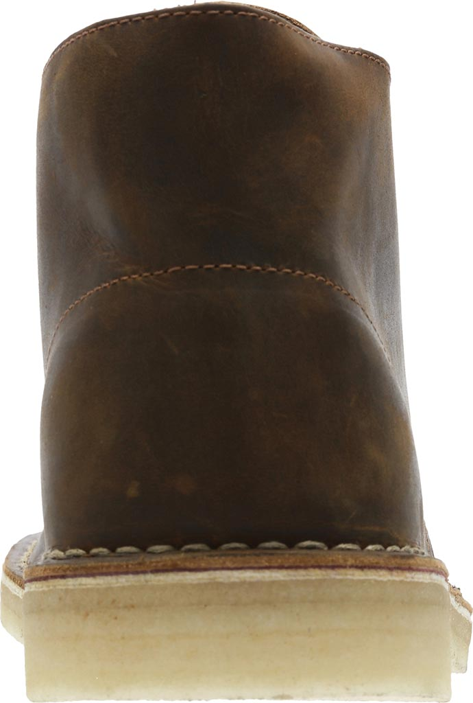 Men's Clarks Desert Boot, Beeswax Full Grain Leather, large, image 4