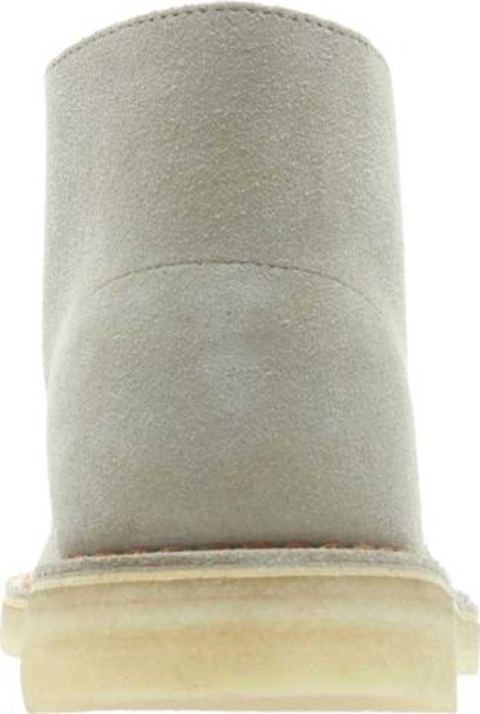 Men's Clarks Desert Boot, Sand/Sand Suede, large, image 3