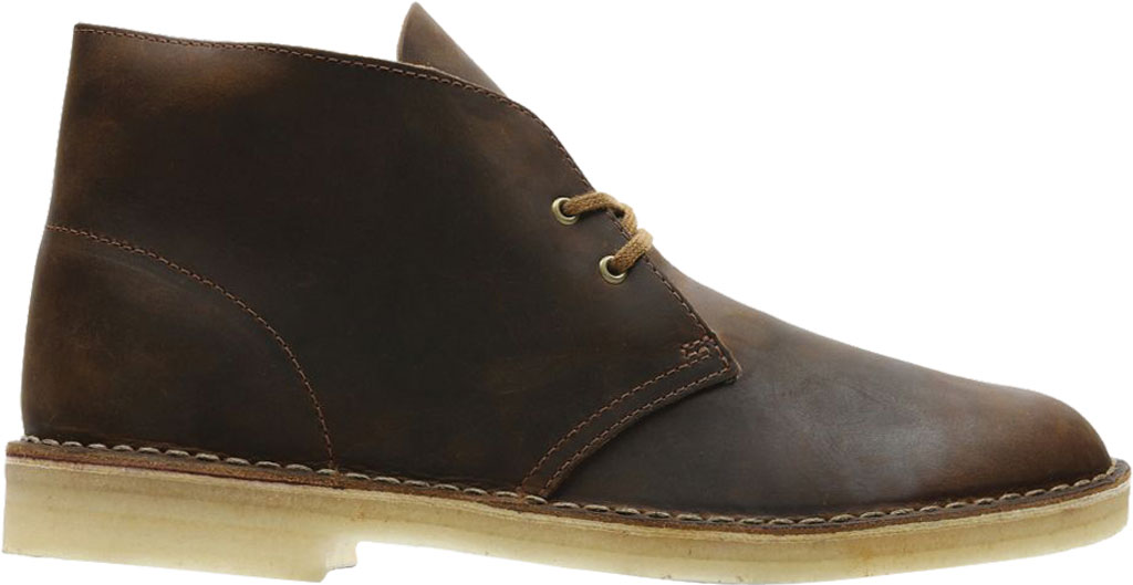 Men's Clarks Desert Boot, Beeswax Leather 2, large, image 2