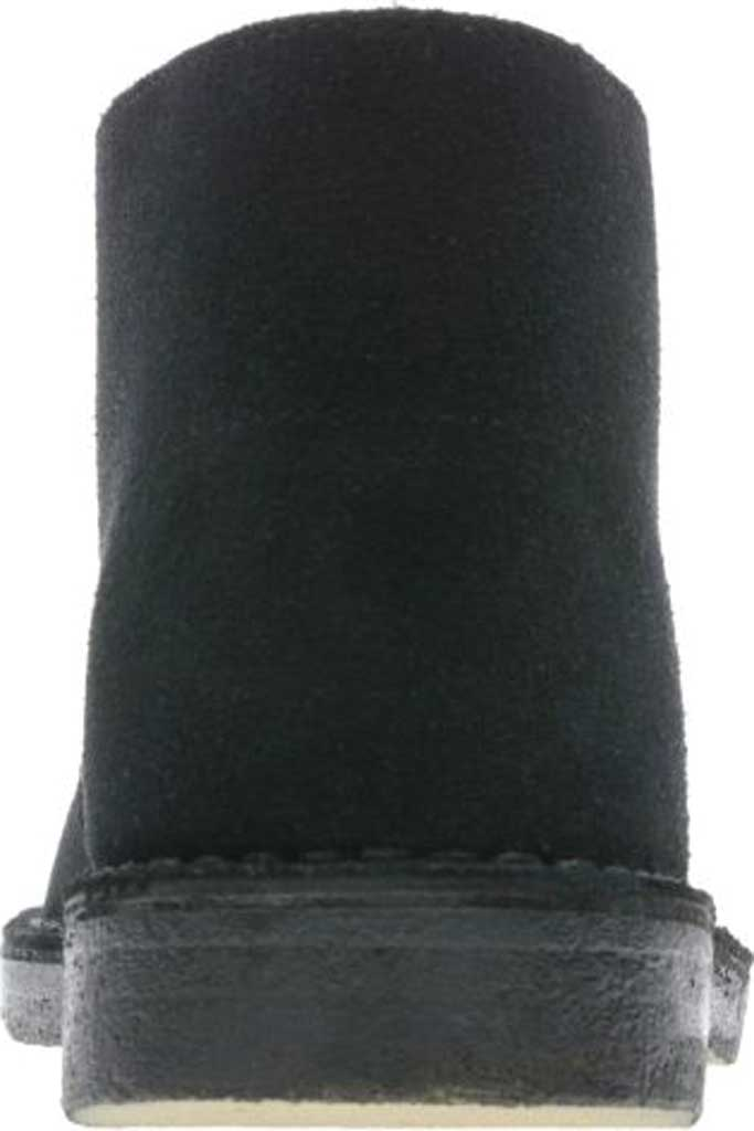 Men's Clarks Desert Boot, Black Suede 2, large, image 4