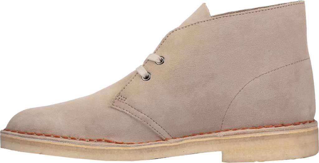 Men's Clarks Desert Boot, Sand Suede 2, large, image 3