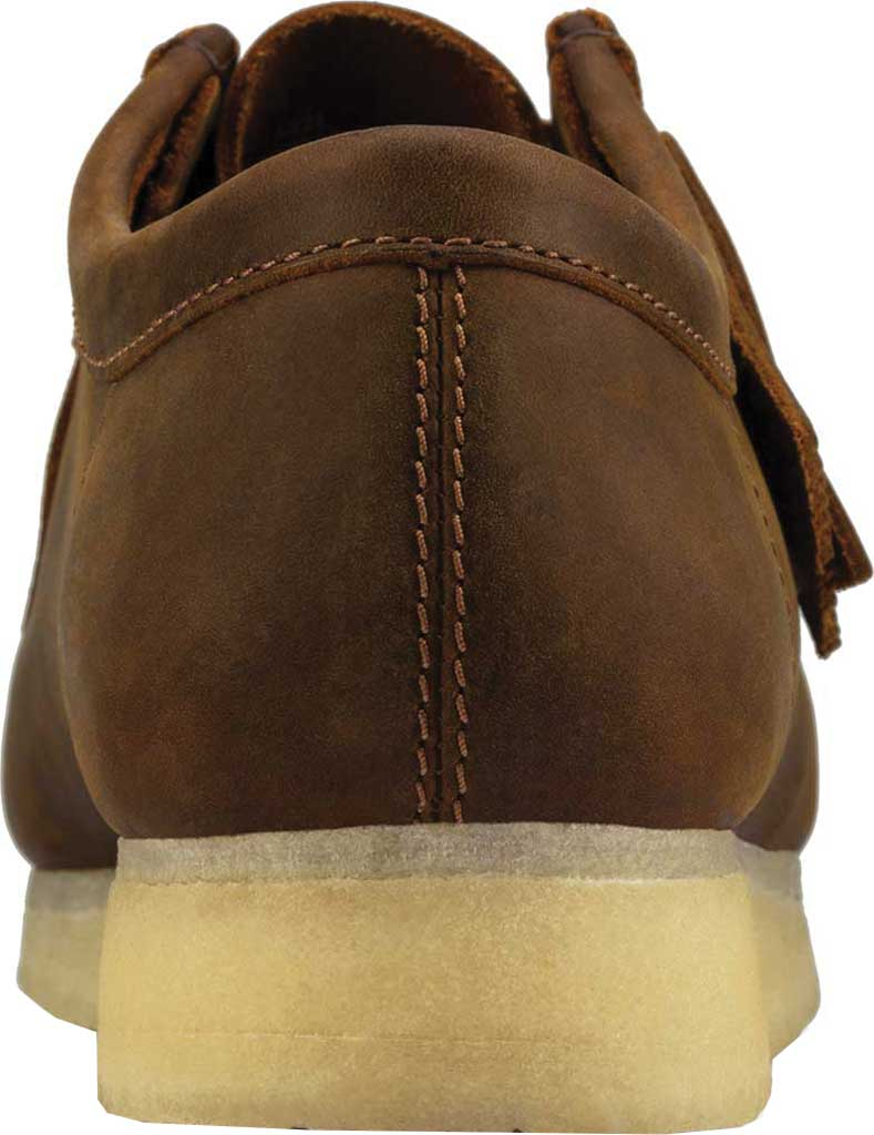 Men's Clarks Wallabee, Beeswax Leather II, large, image 3