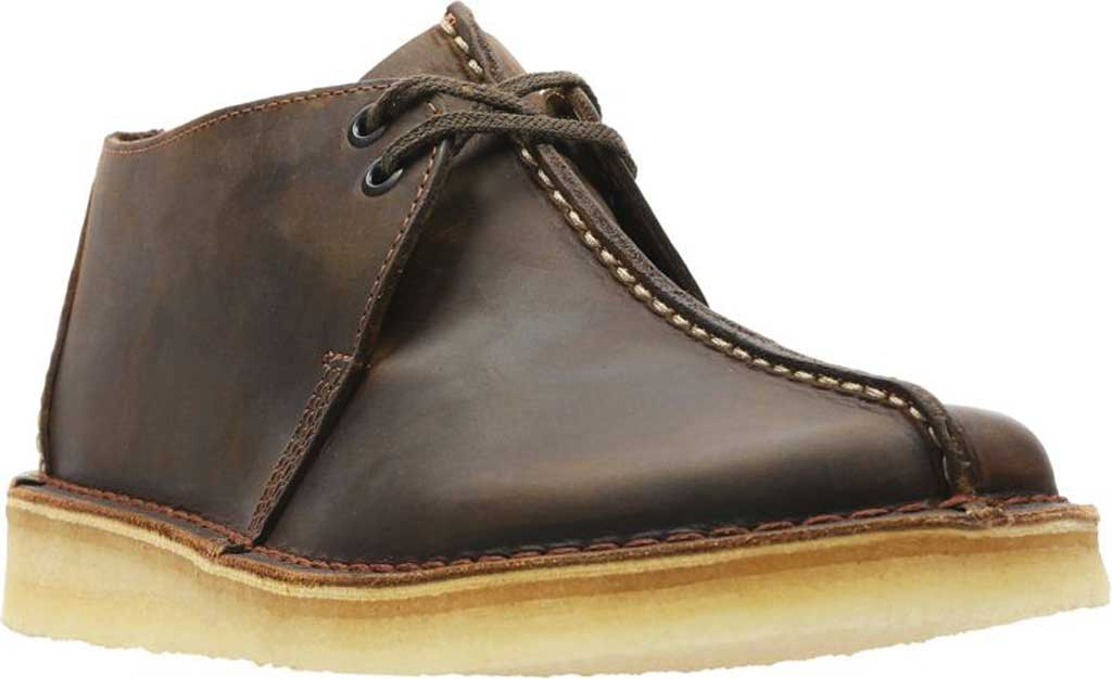 Men's Clarks Wallabee, Black Suede 2, large, image 1