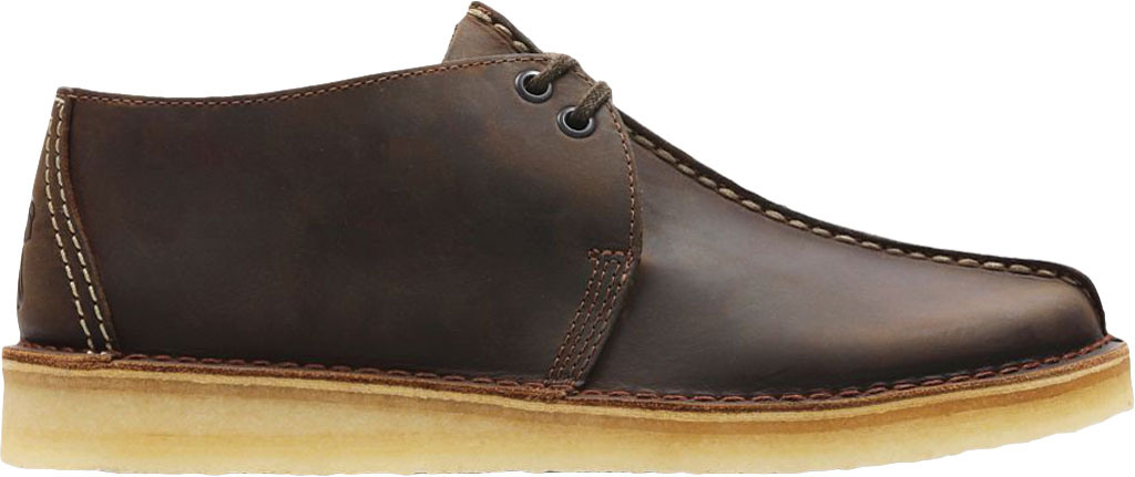 Men's Clarks Wallabee, Black Suede 2, large, image 2