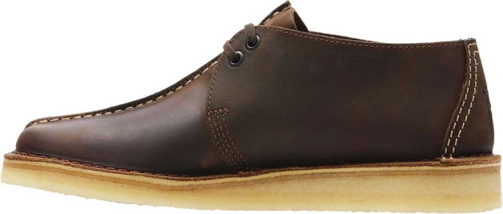 Men's Clarks Wallabee, Black Suede 2, large, image 3
