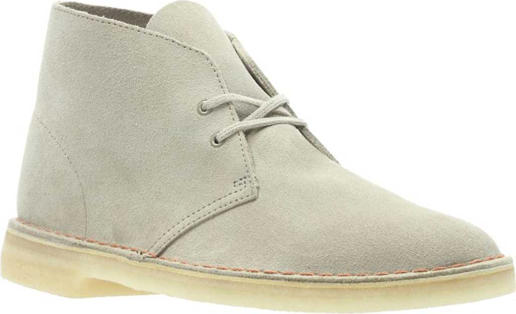 Men's Clarks Desert Trek Boot, Beeswax Suede, large, image 1