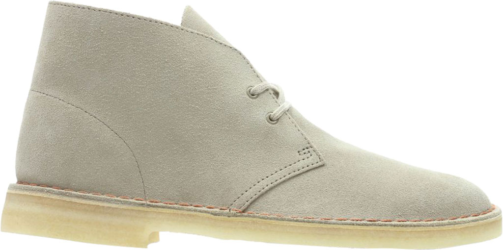 Men's Clarks Desert Trek Boot, Beeswax Suede, large, image 2