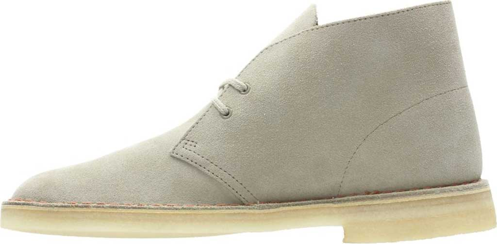Men's Clarks Desert Trek Boot, Beeswax Suede, large, image 3