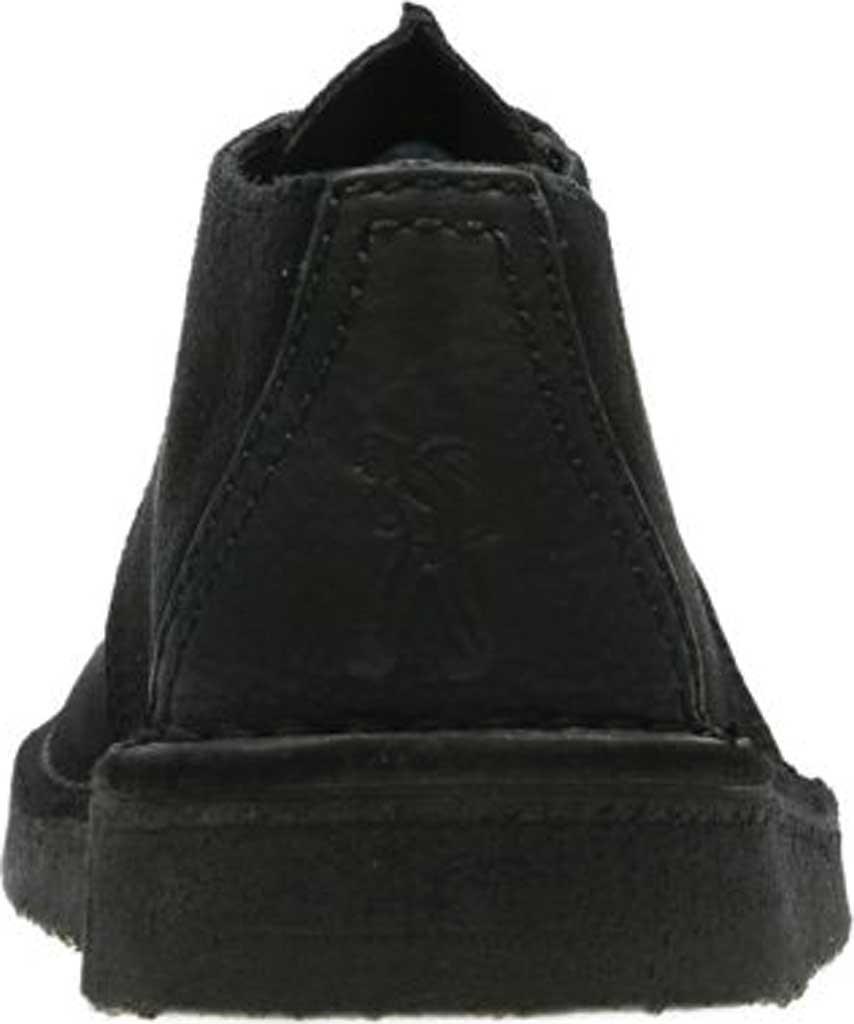 Men's Clarks Desert Trek Boot, Black Suede 2, large, image 4