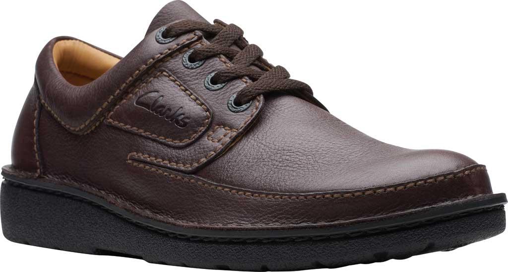Men's Clarks Nature II, Brown Full Grain Leather, large, image 1